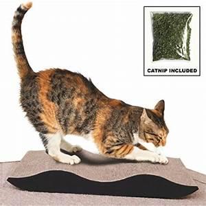 Purrfect, Essentials, Fancy, Style, Cardboard, Cat, Scratcher, With, Catnip
