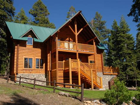 luxury log cabins luxury log cabin with tub and pool vrbo