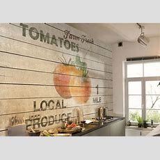 Küchenrückwand Tapete Abwaschbar – Home Sweet Home