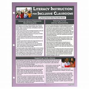 Literacy Instruction For Inclusive Classrooms Reference