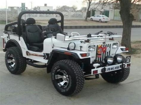 open jeep modified in black colour modified mahindra jeep used cars in punjab mitula cars
