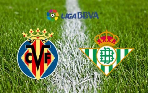 Villarreal vs Real Betis Predictions & Betting Tips, Match ...