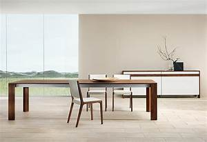 modern dining room furniture With modern wood dining room table