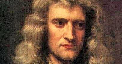 isaac newton le premier physicien n