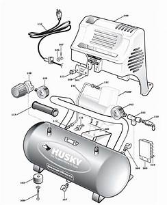 Husky 2g110dp Air Compressor Parts  Husky Parts