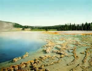 Sapphire Pool Yellowstone National Park