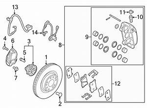 2016 Hyundai Genesis Brake Pads  Disc Brake Pad  Front