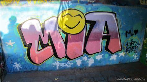 image chambre fille 9ans graffiti anniversaire en suisse