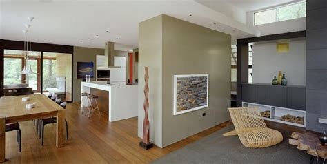 new homes interiors a home blended with nature