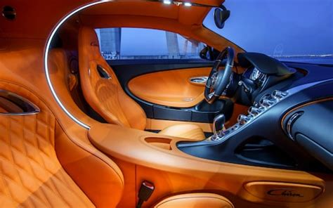 Bugatti cars are known for their design beauty and for their many race victories. Bugatti Chiron interior photographs | A look inside the ...