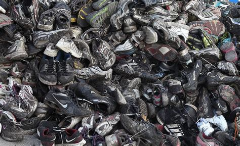 shoe recycling system adds mileage   footwear