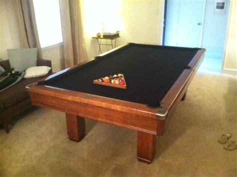 how much is a slate pool table worth value of a brunswick hawthorn pool table in charlotte nc