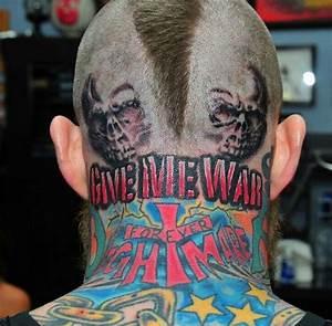 Chris Birdman Andersen got a crazy head tattoo   Larry ...