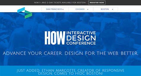 how design conference conference event websites best design practices to