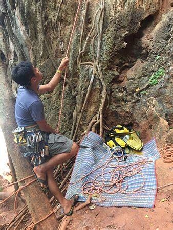 Railay Rock Climbing Shop Day Adventures Beach