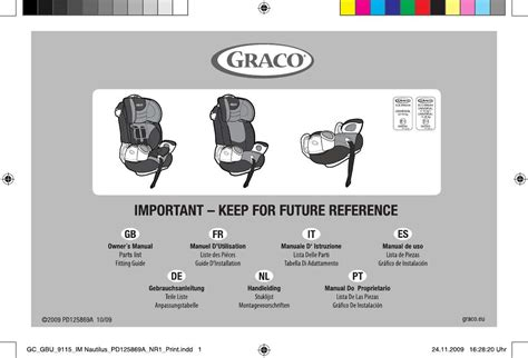 siege auto graco 123 user manual graco nautilus car seats 173 reviews for the