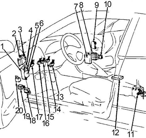 1990 Nissan 240sx Fuse Box Diagram by Nissan 240sx 1989 1994 Fuse Box Diagram Auto Genius