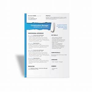 cv template site manager images certificate design and With thick resume paper