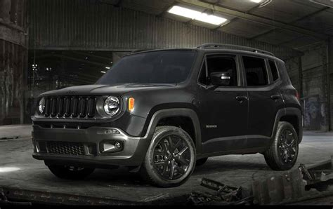 jeep renegade black fcaジャパン jeep renegade black edition を発売 motor cars