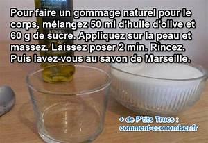 Gommage Corps Fait Maison : le gommage naturel fait maison pour une peau toute douce ~ Melissatoandfro.com Idées de Décoration