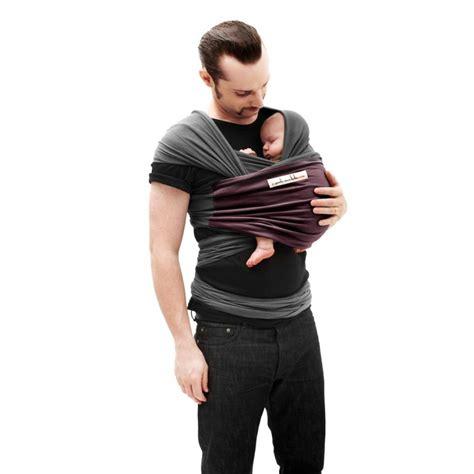 echarpe de portage je porte mon bebe je porte mon b 233 b 233 echarpe de portage anthracite poche prune jpmbb