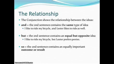 compound sentence comma  coordinating conjunction