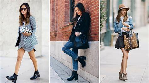 OUTFIT CON BOTINES u2665 #Moda #Fashion #Zapatos #Botines - YouTube