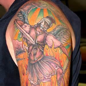 Saint Michael Tattoo Designs