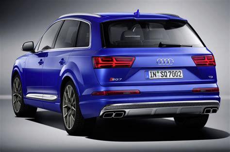 New Audi Sq7 Revealed Autocar