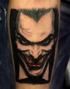 Joker Tattoos for Men - Ideas and Inspiration for Guys