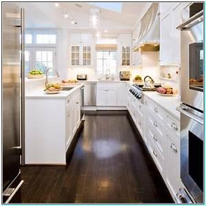 Dark hardwood floors white cabinets Torahenfamilia