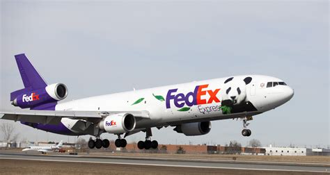 The FedEx Panda Express - China to Canada
