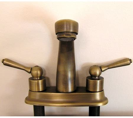 antique brass faucet antique brass single slot bathroom vanity faucet uvlfzz5