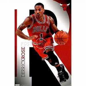 Chicago Bulls Derrick Rose Sports Poster | ~Bull Mania ...