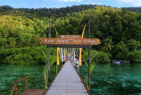 pesona indonesia tempat wisata raja ampat papua barat