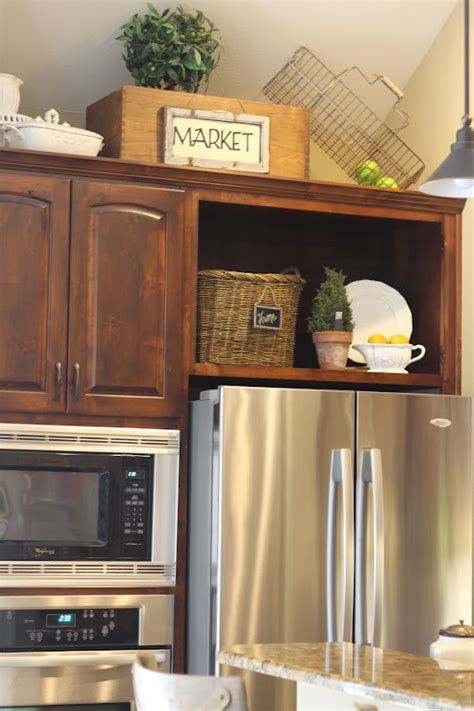 space above kitchen cabinets ideas a thrifted market wasted space