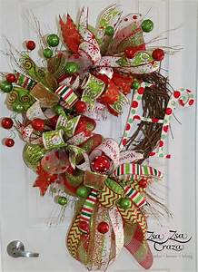 1000+ images about Funky Bow Grapevine Wreaths on