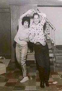 Patsy Cline and husband Charlie Dick do a jiving dance at ...