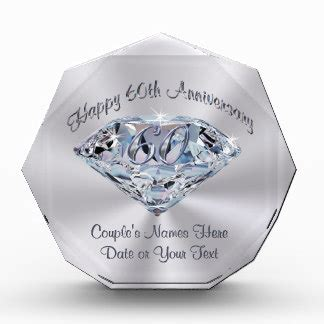 unique wedding presents ideas 60th anniversary gifts on zazzle