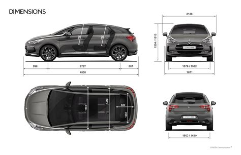 citroen c5 tourer dimensions