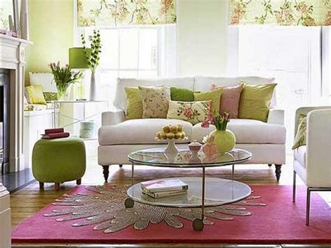 Lime Green Living Room Design With Fresh Color