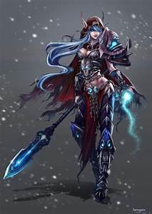 Blood Elf Death Knight | Game Artwork | Pinterest | Female ...