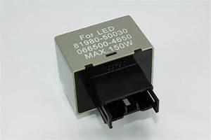 Led Relay Flasher Hazzard Fix Rate 8 Pins Toyota Nissan