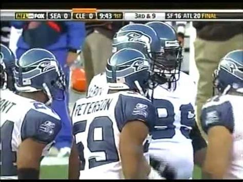 seattle seahawks  cleveland browns  week  youtube