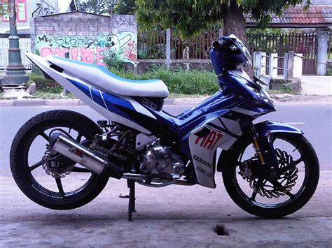 Gambar Motor Drak Jupiter Mx King by 70 Gambar Modifikasi Motor Mx 2008 Terkeren Kakashi