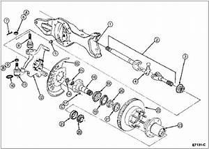 Automatic Hub Diagram - 80-96 Ford Bronco
