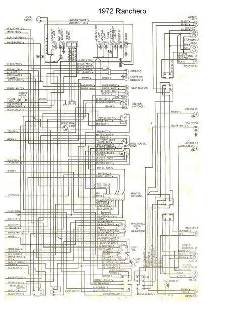 Free Auto Wiring Diagram Ford Ranchero