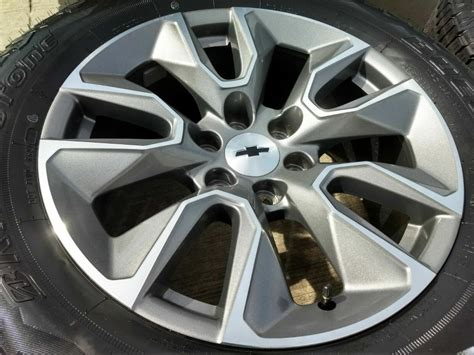 chevy silverado  oem wheels