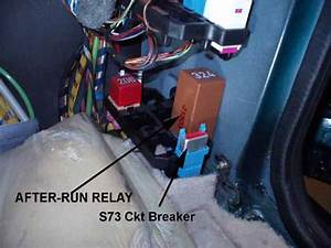 Audi Quattro 2002 Cooling Fan Relay Location