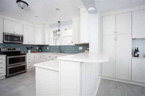 how to make a kitchen backsplash breakfast bar overhang transitional kitchen other 8735